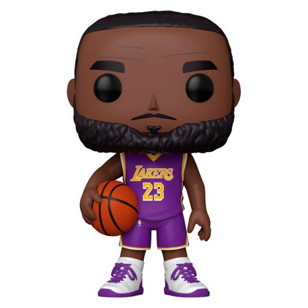Figura POP NBA Lakers LeBron James Purple Jersey 25cm