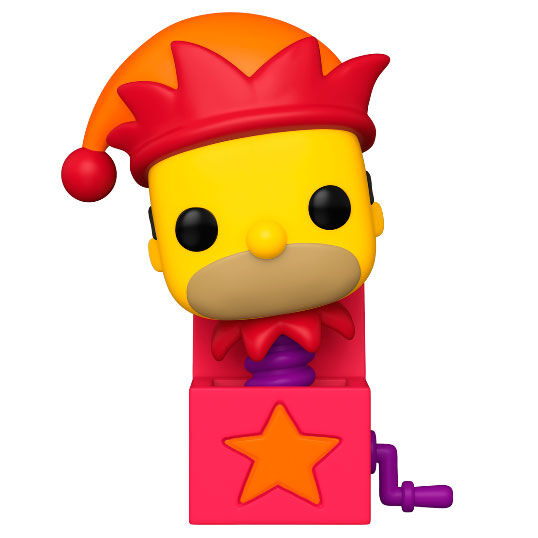 Figura POP The Simpsons Homer Jack-In-The-Box