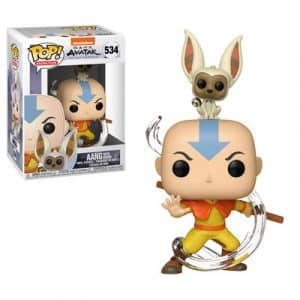 Funko Pop! Aang with Momo [Avatar]