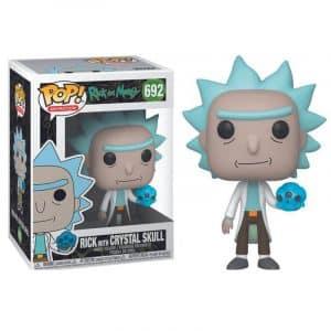 Funko Pop! Rick (Con Crystal Skull) [Rick and Morty]
