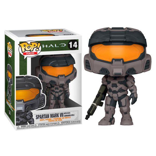 Figura POP Halo Infinite Mark VII with Commando Rifle
