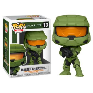 Funko Pop! Master Chief (With MA40 Assault Rifle) [Halo]