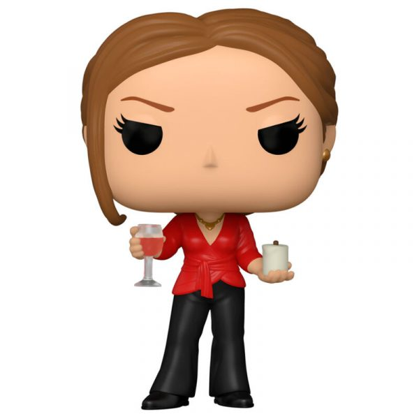 Figura POP The Office Jan with Wine and Candle