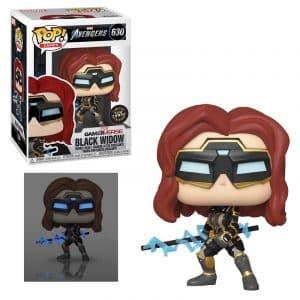 Funko Pop! Black Widow Glow Chase [Avengers Game]