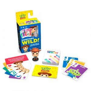 Funko Something Wild! Toy Story (Juego de cartas Francés-Inglés)