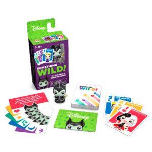 Funko Something Wild! Villanas (Juego de cartas Francés-Inglés)