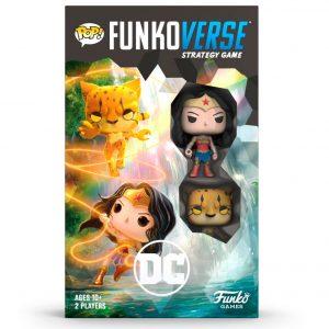 Funkoverse DC Comics Wonder Woman 2 figuras (Ingles)