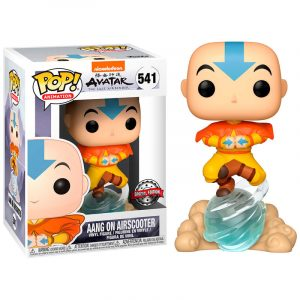 Funko Pop! Aang on Air Bubble Exclusivo [Avatar]