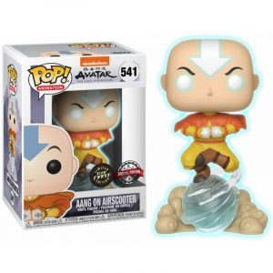 Funko Pop! Aang on Air Bubble Glow Chase Exclusivo [Avatar]