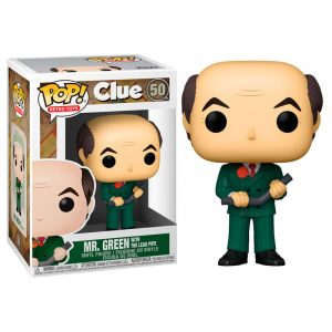 Funko Pop! Mr. Green with The Lead Pipe [Cluedo]