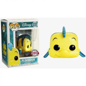 Funko Pop! Flounder Diamond Exclusivo (La Sirenita)