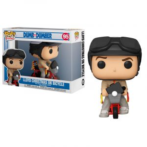 Funko Pop! Lloyd Christmas on Bicycle (Dos Tontos Muy Tontos)