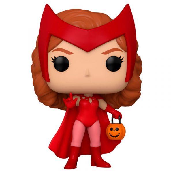 Figura POP Marvel WandaVision Wanda Halloween