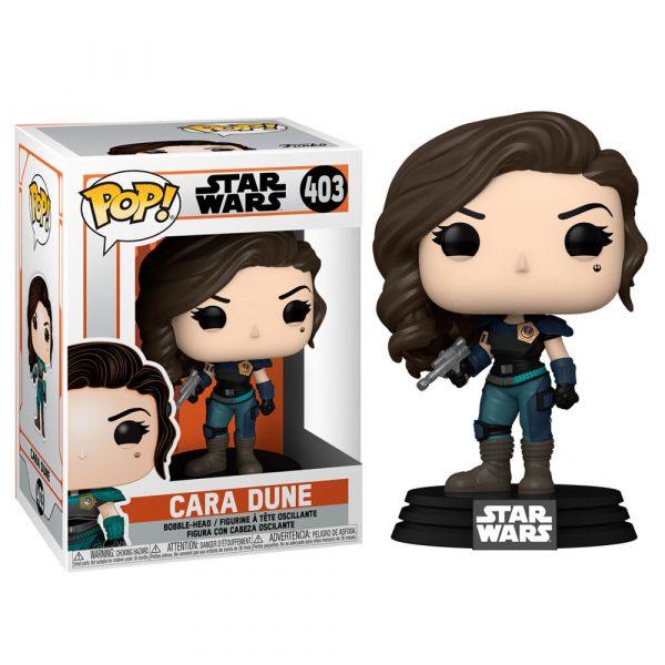 Figura POP Star Wars The Mandalorian Cara Dune
