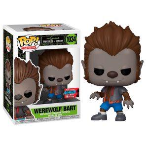 Funko Pop! Werewolf Bart (Exclusivo NYCC 2020) [The Simpsons]