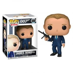 Funko Pop! James Bond Daniel Craig Quantum of Solace