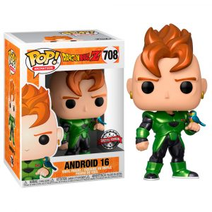 Funko Pop! Android 16 Exclusivo (Dragon Ball Z)