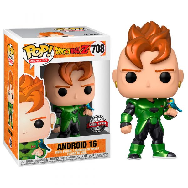 Figura POP Dragon Ball Z Android 16 Special Edition