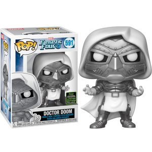 Funko Pop! Doctor Doom Exclusivo (SDCC 2020) (Los 4 Fantásticos)