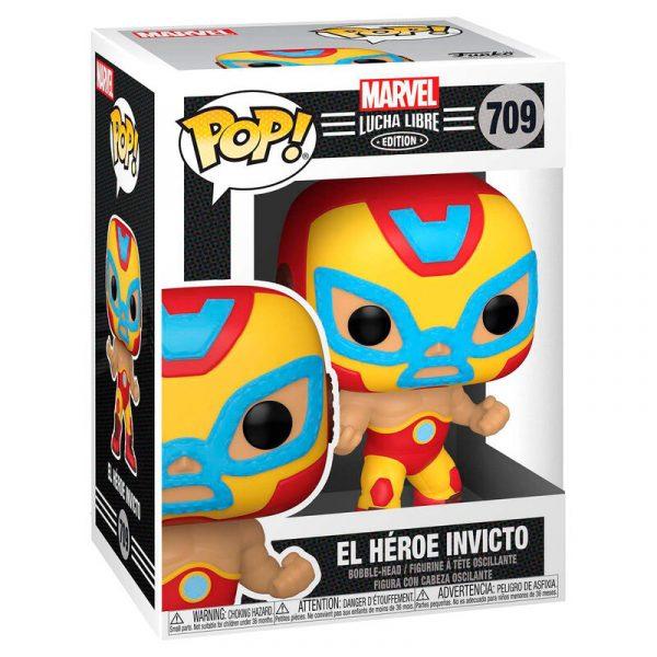 Figura POP Marvel Luchadores Iron Man