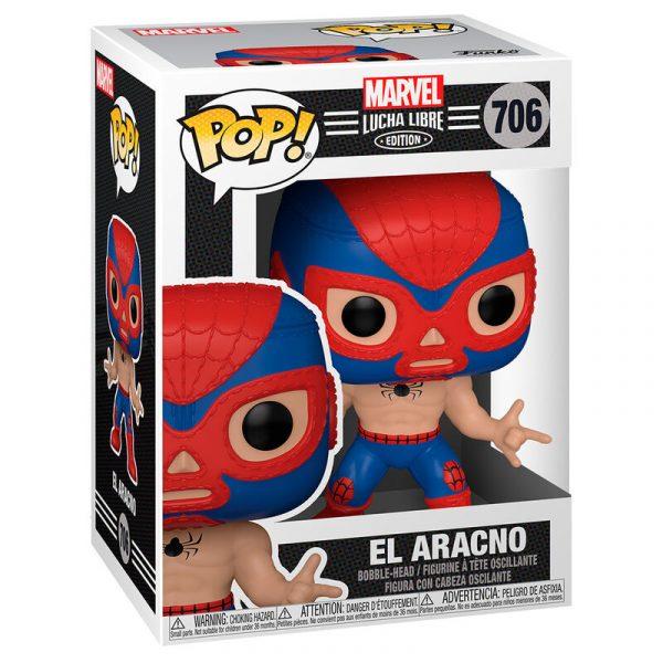 Figura POP Marvel Luchadores Spiderman