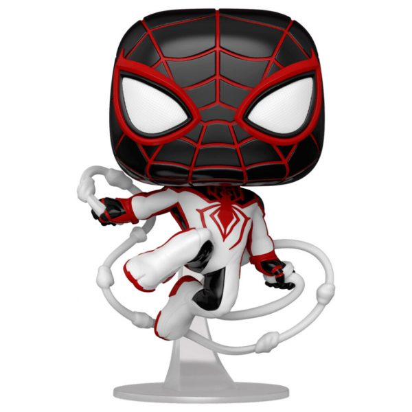 Figura POP Spiderman Miles Morales - Miles Morales Track Suit