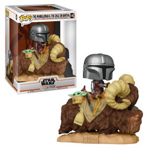 Funko Pop! The Mandalorian & The Child on Bantha