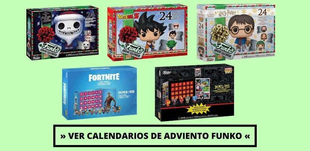 Calendarios de Adviento Funko