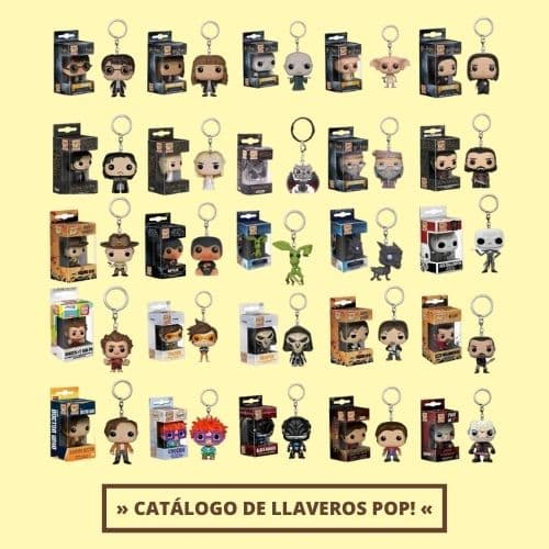 Catálogo de Llaveros Pop Keychain