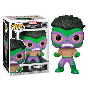 Funko Pop! El Furioso (Marvel Lucha Libre)
