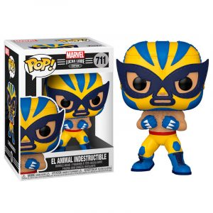 Funko Pop! El Animal Indestructible [Marvel Lucha Libre]