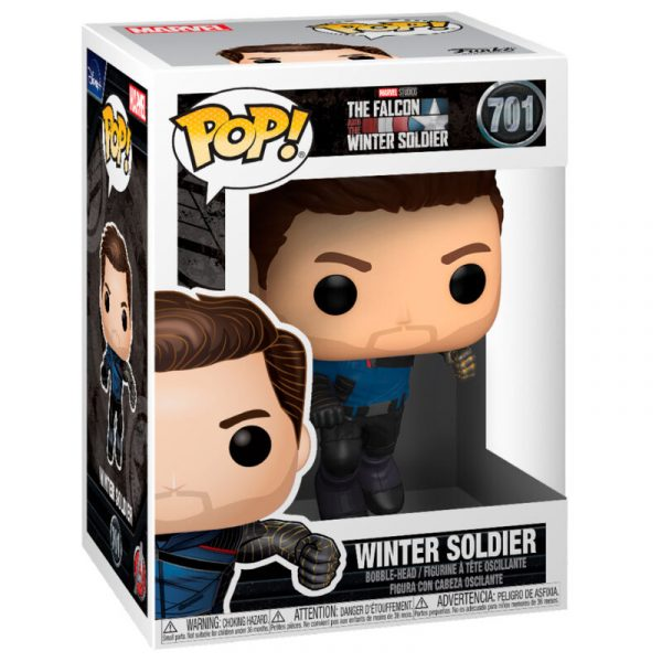 Figura POP Marvel The Falcon and the Winter Soldier - Winter Soldier