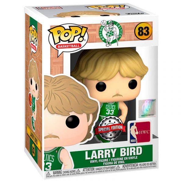 Figura POP NBA Celtics Larry Bird Away Uniform Exclusive
