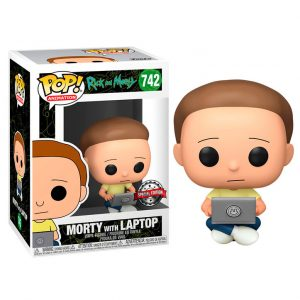 Funko Pop! Morty with Laptop Exclusivo (Rick and Morty)