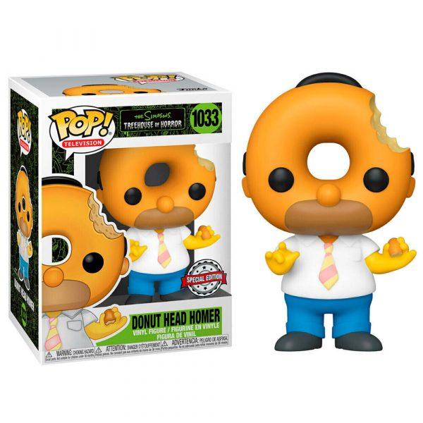 Figura POP Simpsons Donut Head Homer Exclusive