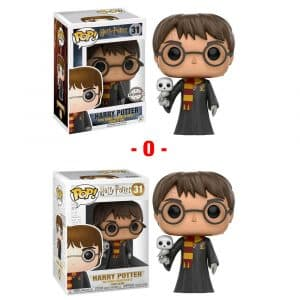 Funko Pop! Harry Potter (con Hedwig) Exclusivo