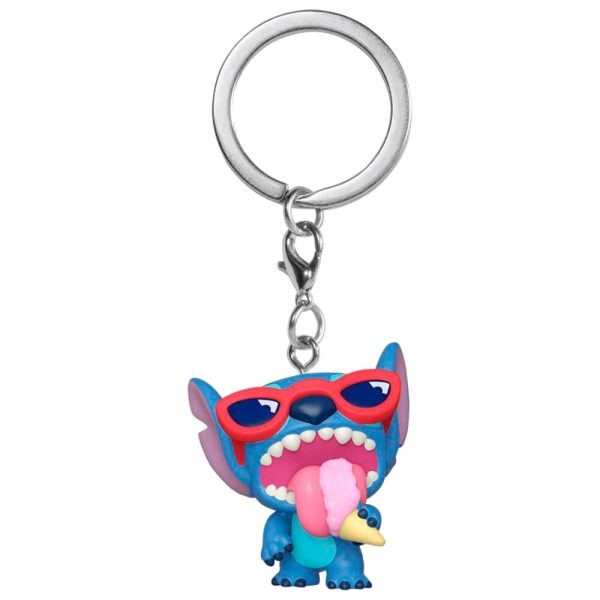 Llavero Pocket POP Lilo and Stitch Summer Stitch Exclusive