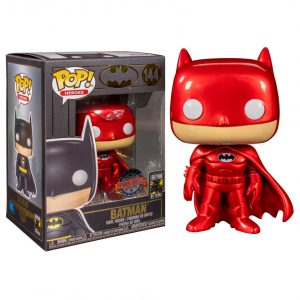 Funko Pop! Batman Metálico Rojo Exclusivo