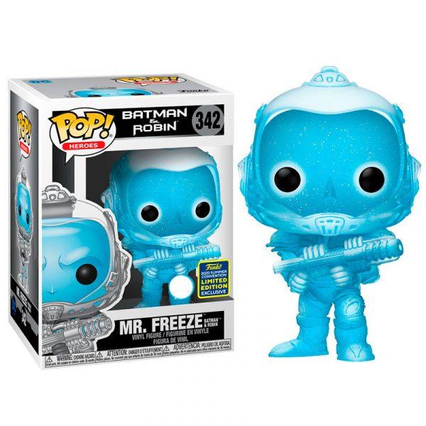 Figura POP DC Comics Batman & Robin Mr. Freeze Exclusive