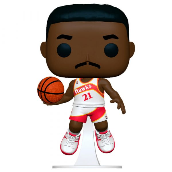 Figura POP NBA Legends Dominique Wilkins Hawks Home