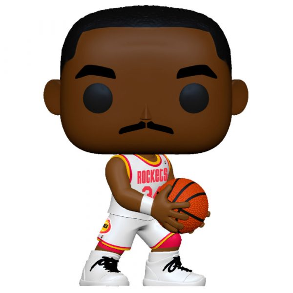 Figura POP NBA Legends Hakeem Olajuwon Rockets Home