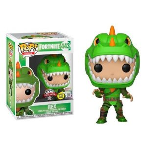 Funko Pop! Rex Exclusivo GITD [Fortnite]