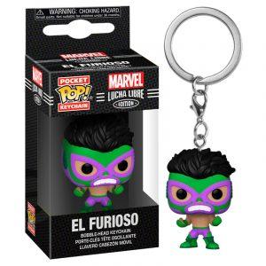 Llavero Pop! El Furioso (Marvel Lucha Libre)