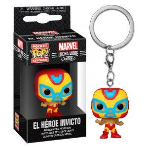 Llavero Pop! El Héroe Invicto (Marvel Lucha Libre)