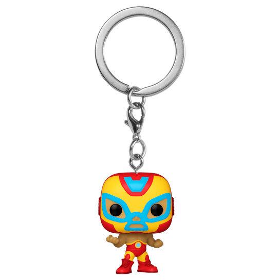 Llavero Pocket POP Marvel Luchadores Iron Man El Heroe Invicto