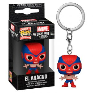 Llavero Pop! El Aracno (Marvel Lucha Libre)