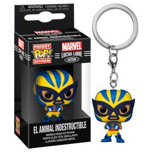 Llavero Pop! El Animal Indestructible (Marvel Lucha Libre)