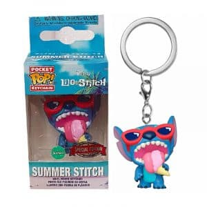 Llavero Funko Pop! Summer Stitch Exclusivo (Lilo and Stitch)