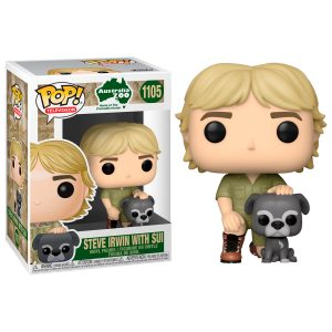 Figura POP Crocodile Hunter Steve Irwin with Sui