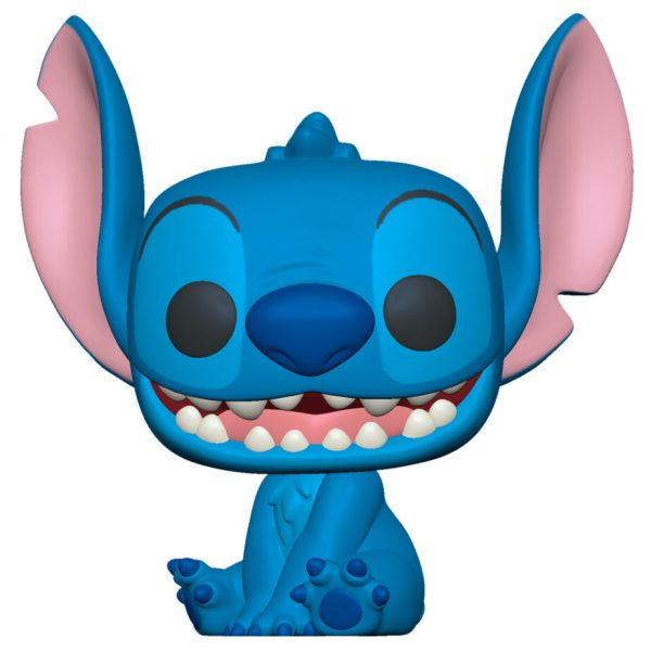 Figura POP Disney Lilo and Stitch - Smiling Seated Stitch